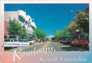 Canada Kamloops Victoria Street Downtown