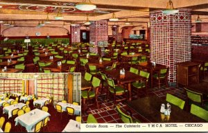 Illinois Chicago Y M C A Hotel Oriole Room The Cafeteria Curteich