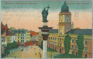 79906 - Polen POLAND - Ansichtskarten  VINTAGE POSTCARD -  WARSAW  Warszawa 1916