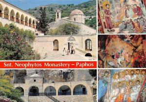 Cyprus Snt. Neophytos Monastery Paphos Paintings