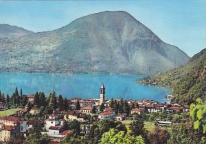 Porlezza, LAGO DI LUGANO, Como, Lombardia, Italy, 50-70s