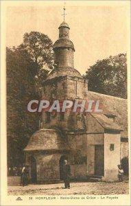 Postcard Old Honfleur NDG the Facade