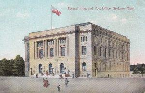 Federal Bldg. & Post Office , SPOKANE , Washington ; PU-1914