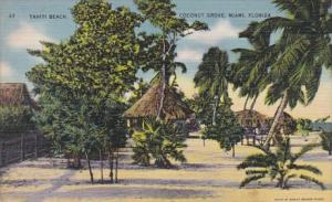 Florida Miami Tahiti Beach Coconut Grove