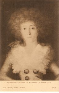 Goya. Condesa-Duquesa de Benavente Fine art, painting, vinttage Spanish PC