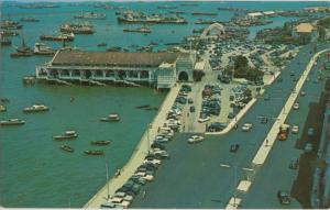 AERIAL view of Clifford Pier and Collyer Quay ... looks different today, 1960s