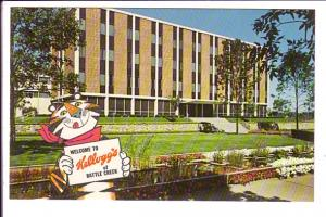 Welcome to Kellogg's, Tony the Tiger, Battle Creek, Michigan,