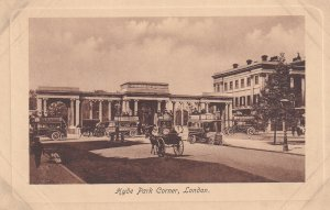 LONDON, England, 1900-1910s; Hyde Park Corner