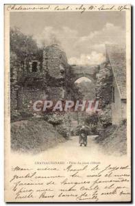 Chateaurenard Old Postcard Door of old castle