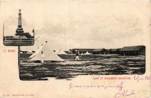 CPA LE MANS Camp et Monument D'AUVOURS (390920)