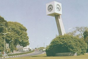 The Clock Tower Blantyre Malawi African Rare Postcard