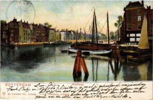 CPA ROTTERDAM Wijnhaven NETHERLANDS (602534)