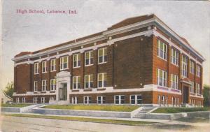 Indiana Lebanon High School 1914