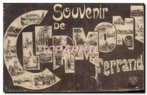 Old Postcard Remembrance Clermont Ferrand