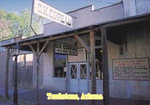 O K Corral Tombstone Arizona