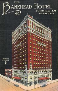 Linen of the Bankhead Hotel Birmingham Alabama AL