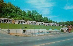 TN, Chattanooga, Tennessee, Dude Motel, Dexter No. 25281-B