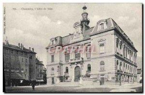 Old Postcard Chambery L & # 39Hotel City