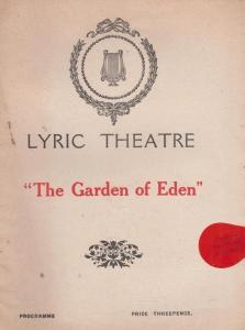 The Gold Diggers Dorothy Field Comedy Lyric Antique London Theatre Programme