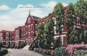 North Carolina Charlotte Mercy Hospital