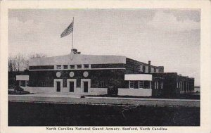 North Carolina Sanford North Carolina National Guard Armory 1946 Albertype