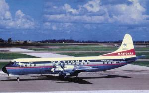 National Airlines - Lockheed L-188 at Miami, 1961