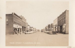 RP: FLANDREAU , South Dakota , 1930-40s ; Main Street