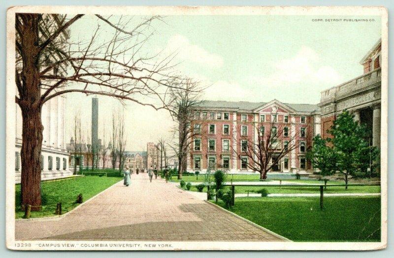 New York City~Columbia University~Campus View~Pro Ecclesia~c1910 Detroit Publ