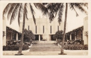 Hawaii Honolulu The Waikiki Theatre 1945 Real Photo sk191