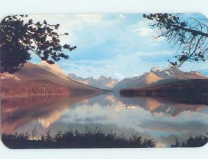 Unused Pre-1980 LAKE SCENE Jasper National Park Alberta AB F3164