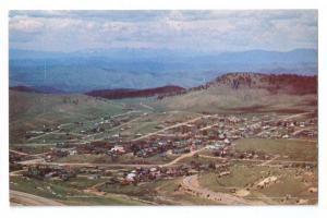 Cripple Creek Colorado CO Aerial View 1970s