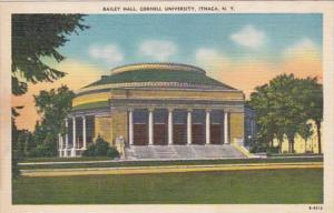 New York Ithaca Bailey Hall Cornell University