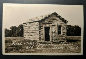 Mint Vintage Greene County Georgia Old Salem State Park Real Picture Postcard
