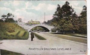 Ohio Cleveland Rockefeller Boulevard 1908