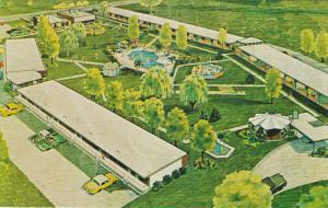 Pilgrim House Motor Hotel , PENTICTON , B.C. , Canada , 50-60s