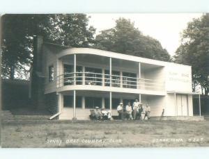 Pre-1950 rppc NICE VIEW Osage Iowa IA W0182
