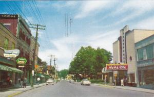 Rue St-Charles , LONGUEUIL , Quebec , Canada , PU-1989 [Circa 40-60s postcard]