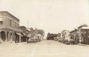 RP: WINTHROP , Minnesota , 1930-40s , Street