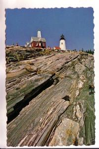 Pemaquid Point Lighthouse, Maine, Photo Hastings