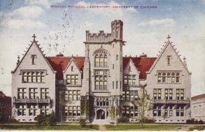 Ryerson Physical Laboratory ~ University Of Chicago ~ Chicago Illinois Postcard