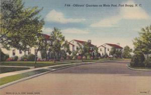 Officer's Quarters On Main Post, Fort Bragg, North Carolina, 1930-1940s