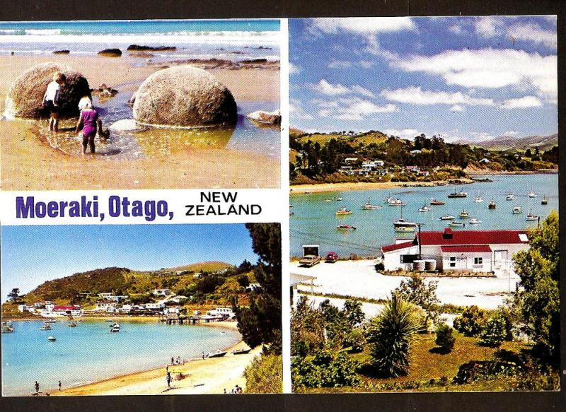 NEW ZEALAND  POSTCARD MOERAKI - OTAGO
