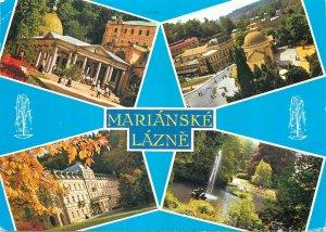 Czech Republic Postcard Marianske Lazne different aspetcs
