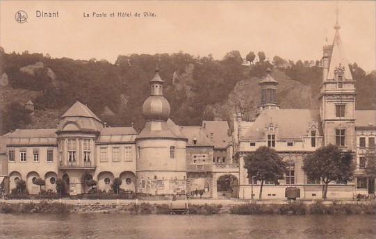 Belgium Dinant La Poste et Hotel de Ville
