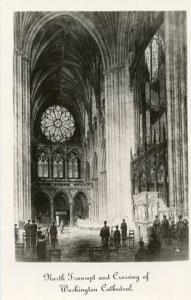 DC - Washington, North Transept & Crossing of Washington Cathedral