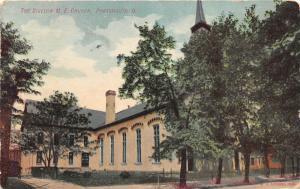 E43/ Portsmouth Ohio Postcard Scioto County c1914 Bigelow M.E. Church Building
