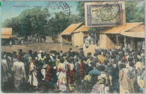 80162 -  MADAGASCAR -  Vintage Postcard -  NOSSI BE 1912 - Very Nice!!