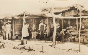 RP; JUAREZ, Mexico, 1910-20s; Out-dorrs Merchant