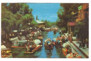Lago de Xochimilco, Mexico, 40-60s
