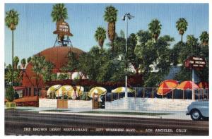 The Brown Derby Restaurant, 3377 Wilshire Blvd., Los Angeles, California C7